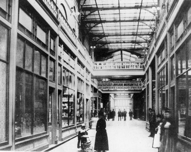 Interior del arcade (c. 1882)